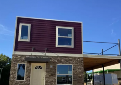 Container house, McKinney, TX